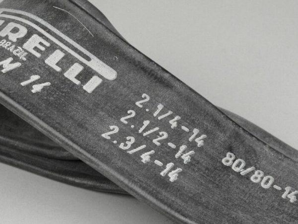 Schlauch -PIRELLI- 2.5 – 14, 2.25 – 14, 2.75 – 14, 80/80 – 14 7670541