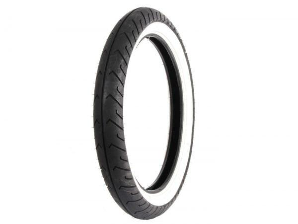 Reifen -MITAS MC2, Weißwand- 2.50-16 / 2 1/2-16 (alte Bezeichnung 20×2.50) 42J TL/TT SV553765