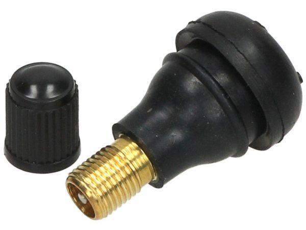 Ventil für Schlauchlosfelge, kurz -PIAGGIO TR413- 0° – Ø=11,3mm 7672171